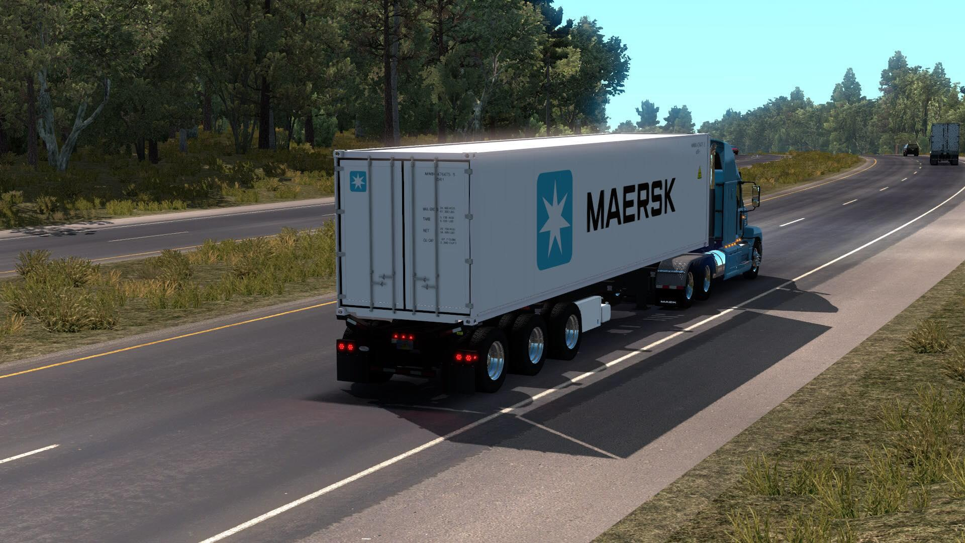 Daikin Reefer Container Ownable v03 03 19 1 34 x ATS -Euro Truck