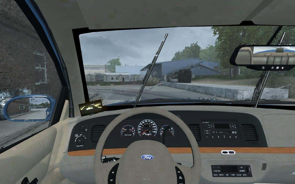 Ford Crown Victoria 1 33+ Mod Car -Euro Truck Simulator 2 Mods