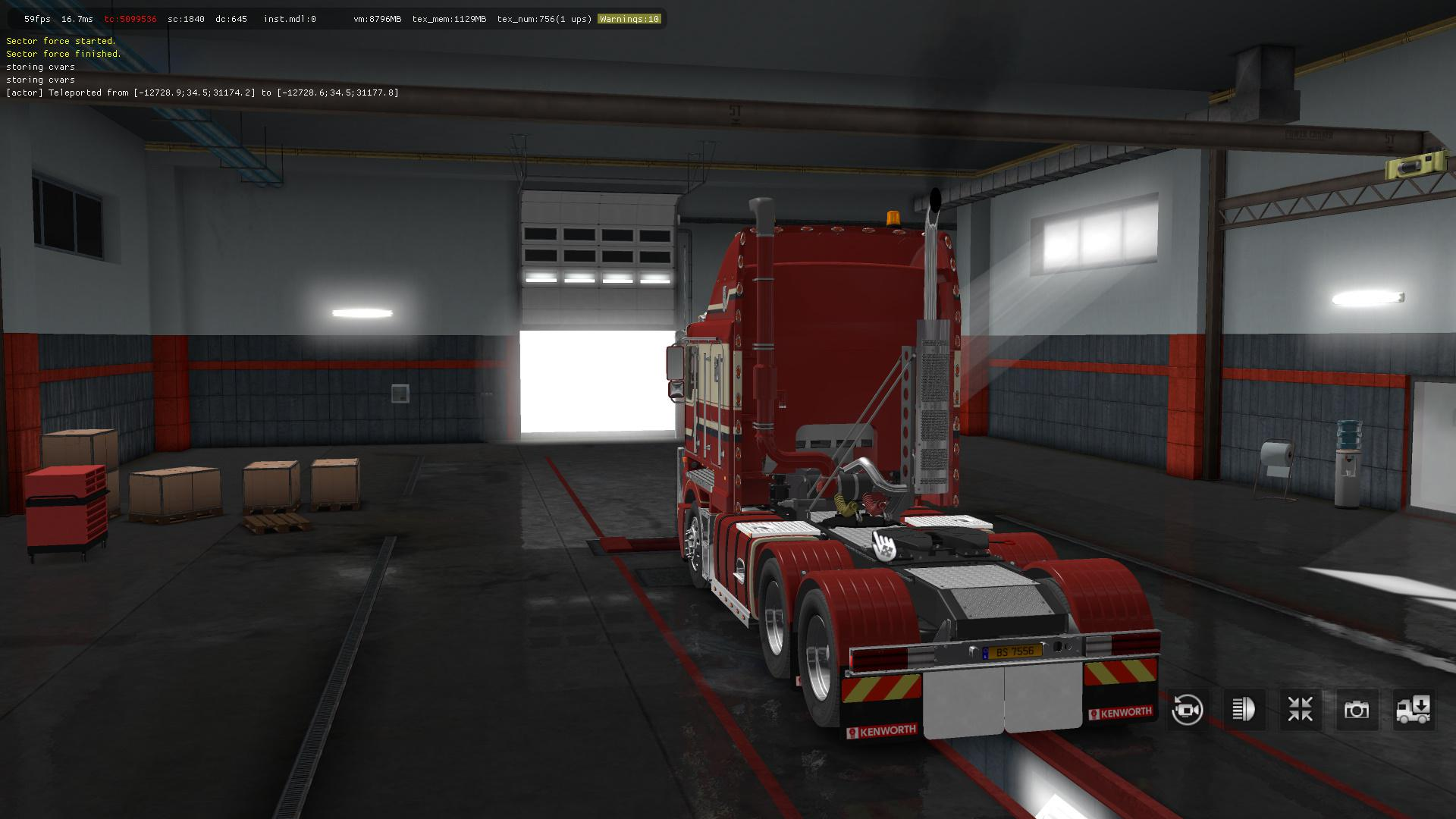 TRUCK KENWORTH ROAD 8X6 SIMULATOR TRAIN T800 EURO TÉLÉCHARGER