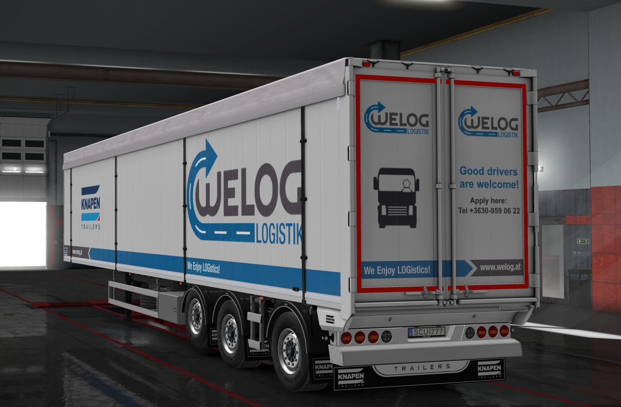RUDIS KNAPEN SKINS V1 0 MOD 2 - ETS 2 Mods | Euro Truck Simulator 2 Mods