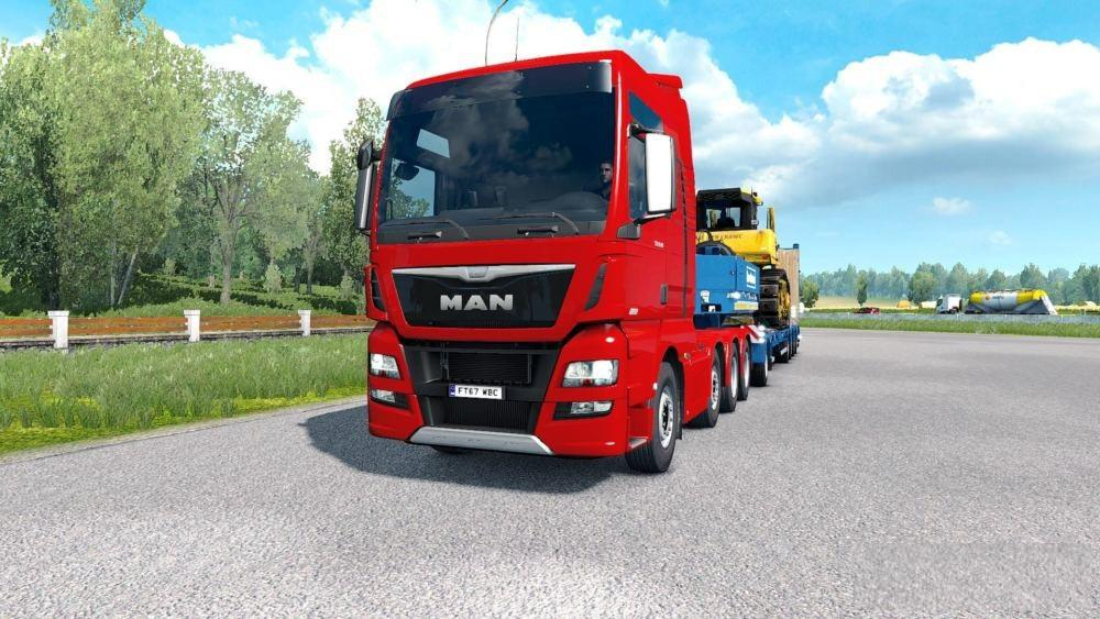 LIUSHUN QUALITY WEATHER MODS 1 35 ETS2 -Euro Truck Simulator