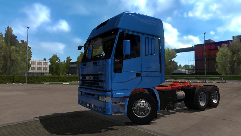 IVECO EUROSERIES BY DIABLO FOR ETS2 1 35 TRUCK -Euro Truck