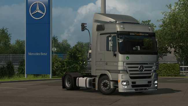 Mercedes Benz Actross Mp2 1 35 1 31 Truck Euro Truck