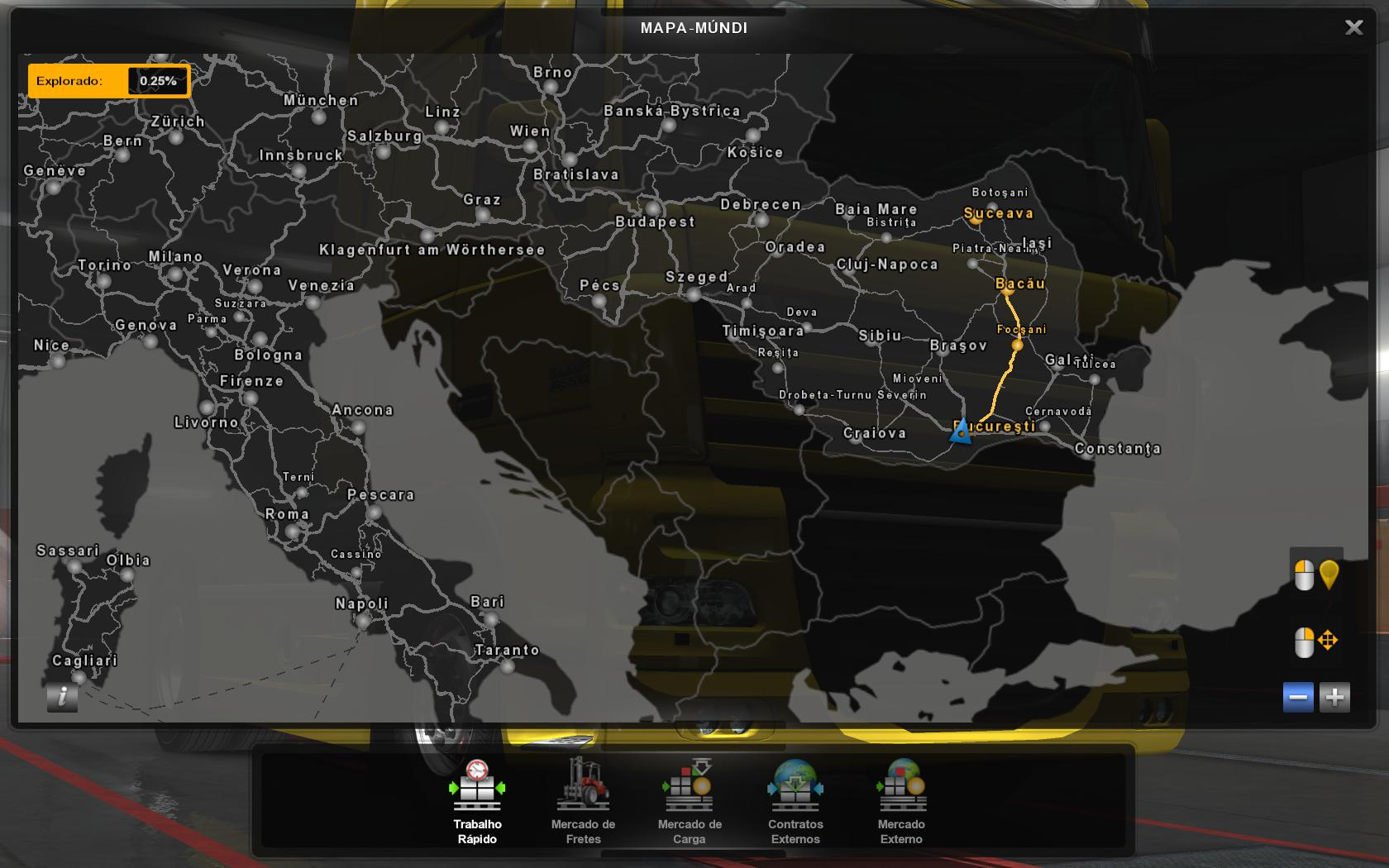 Profile Romania Map By Mirfi 1 8 1 35 Ets2 Euro Truck