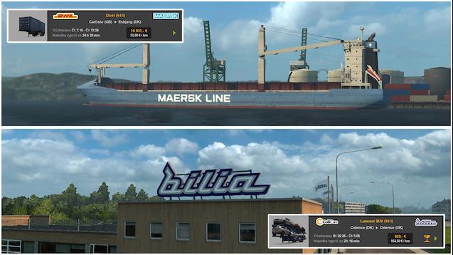 REAL EUROPEAN COMPANIES 1 35 X MOD -Euro Truck Simulator 2 Mods