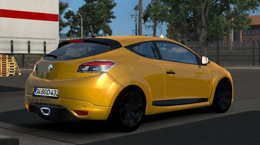 Renault Megane 3 Rs V1r10 135 Car Euro Truck Simulator 2 Mods