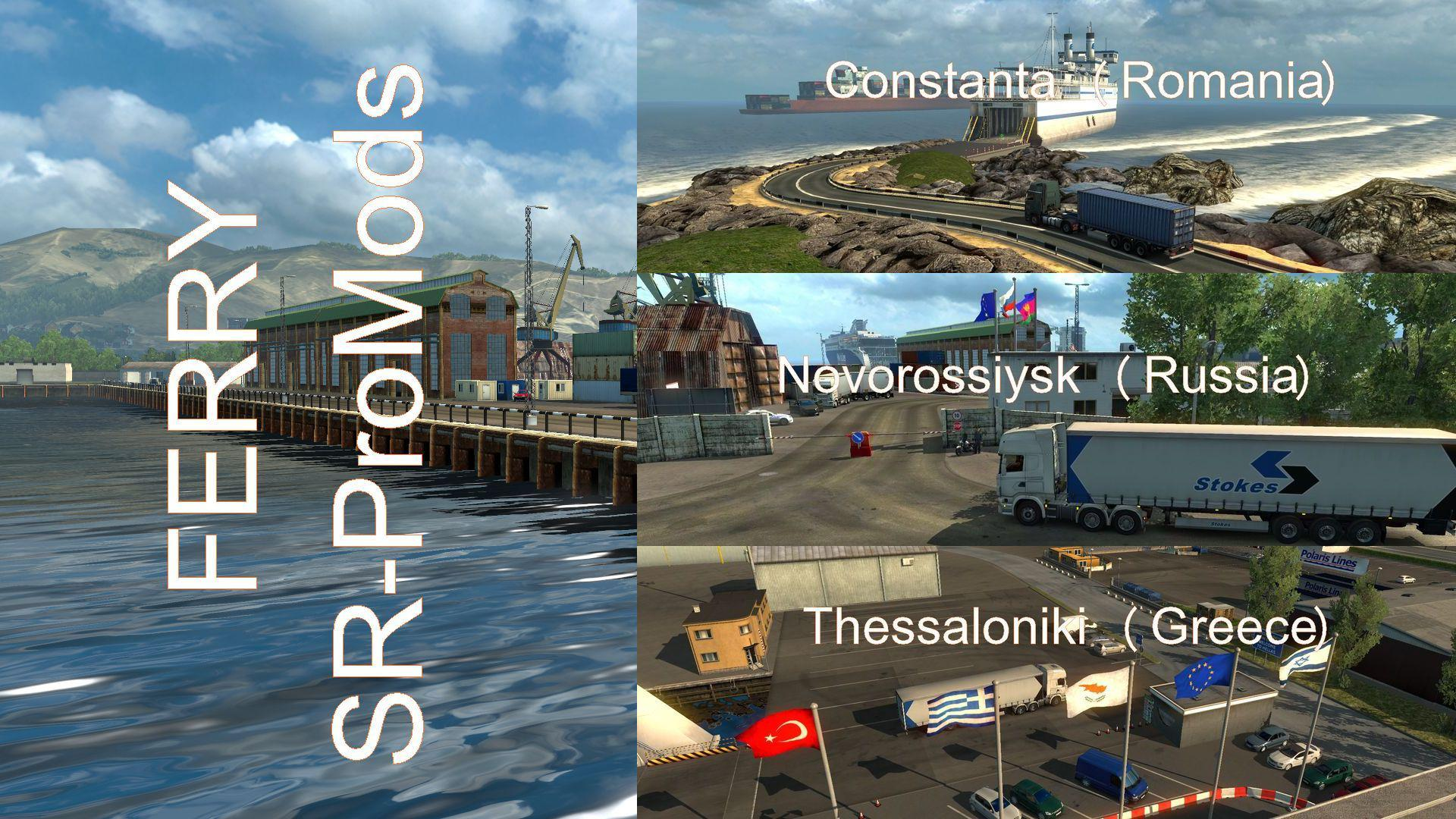 FERRY CONNECTION FOR MAPS: PROMODS 2 41-SOUTHERN REGION 7 8