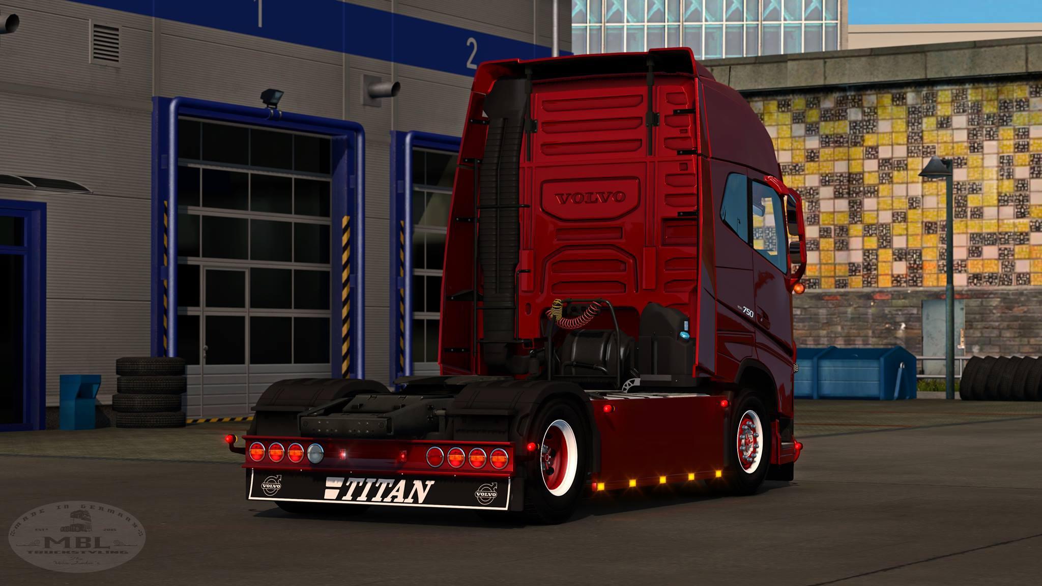 Mbl Volvo Addon Pack V1 2 1 1 35 X Tuning Mod Euro Truck