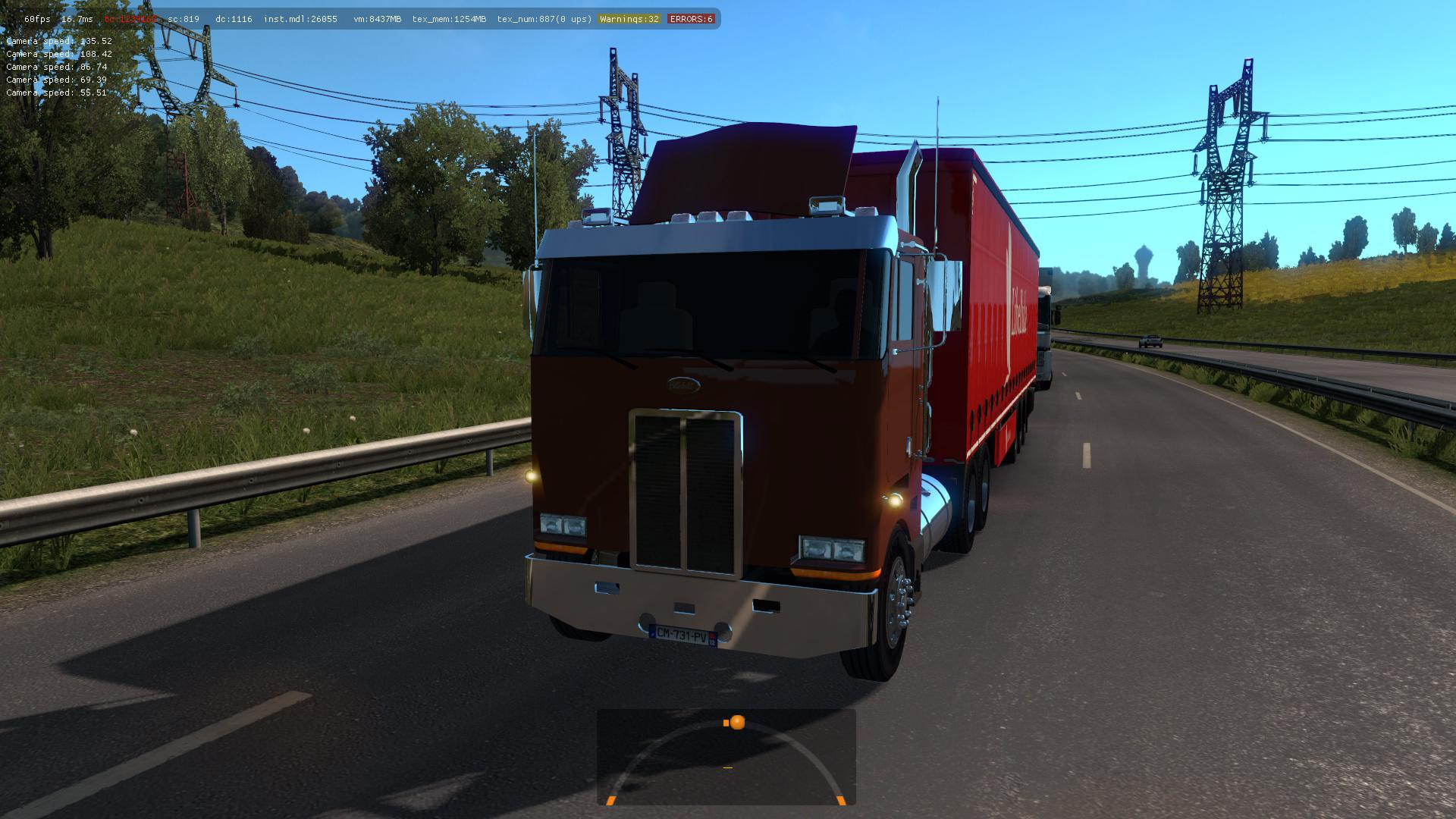 PETERBILT 362 IN TRAFFIC ETS2 1 35 MOD -Euro Truck Simulator