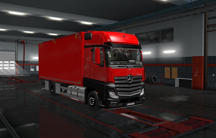 RIGID CHASSIS PACK FOR ALL SCS TRUCKS V2 0 ETS2 -Euro Truck