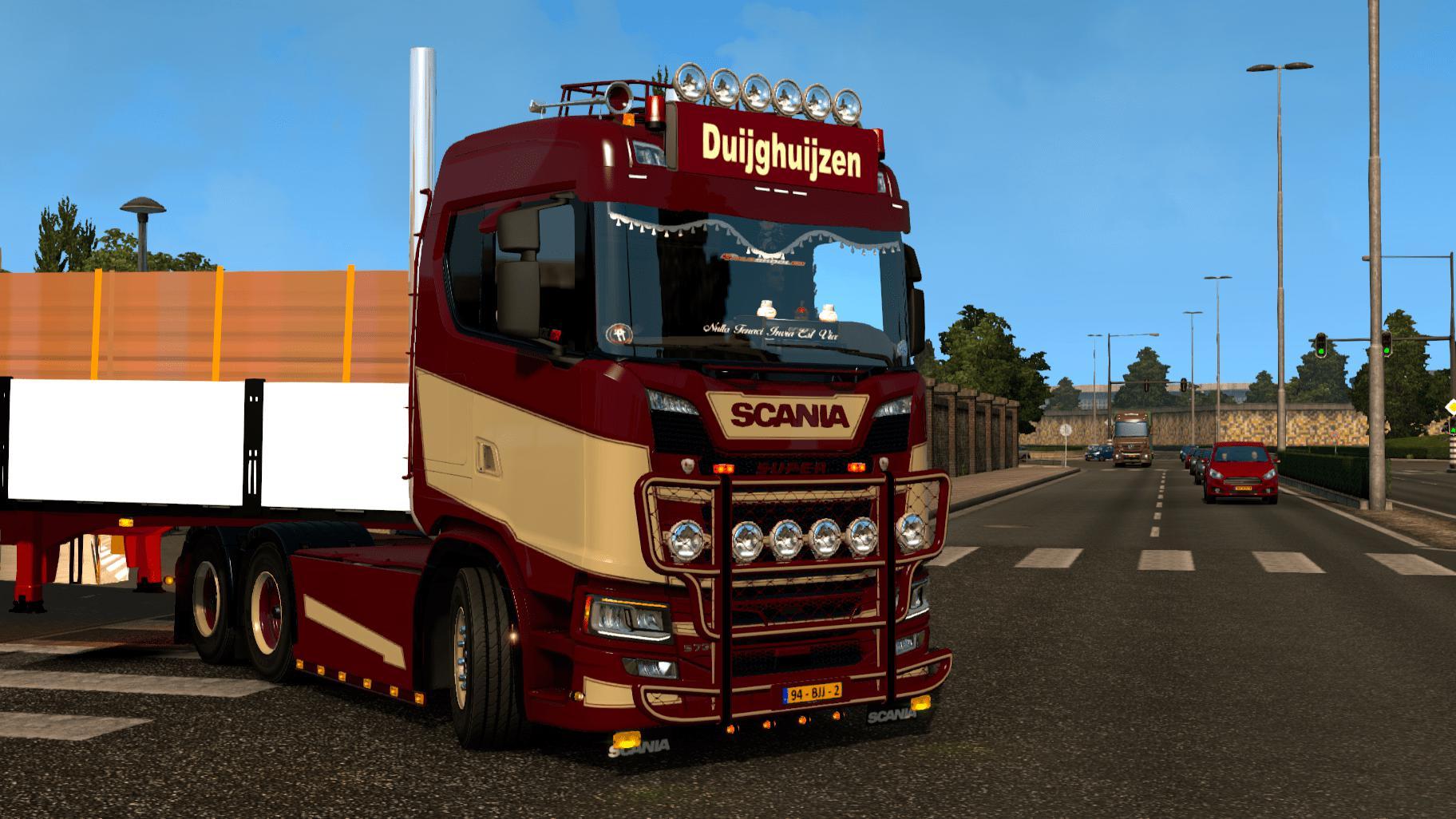 Scania S Duijghuijzen 1 35 Truck Skin Euro Truck