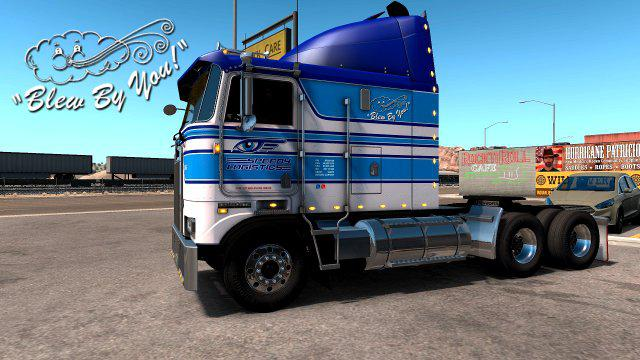 BLEW BY YOU! FOR KENWORTH KW100E V1 0 TRUCK SKIN - ETS 2 Mods | Euro