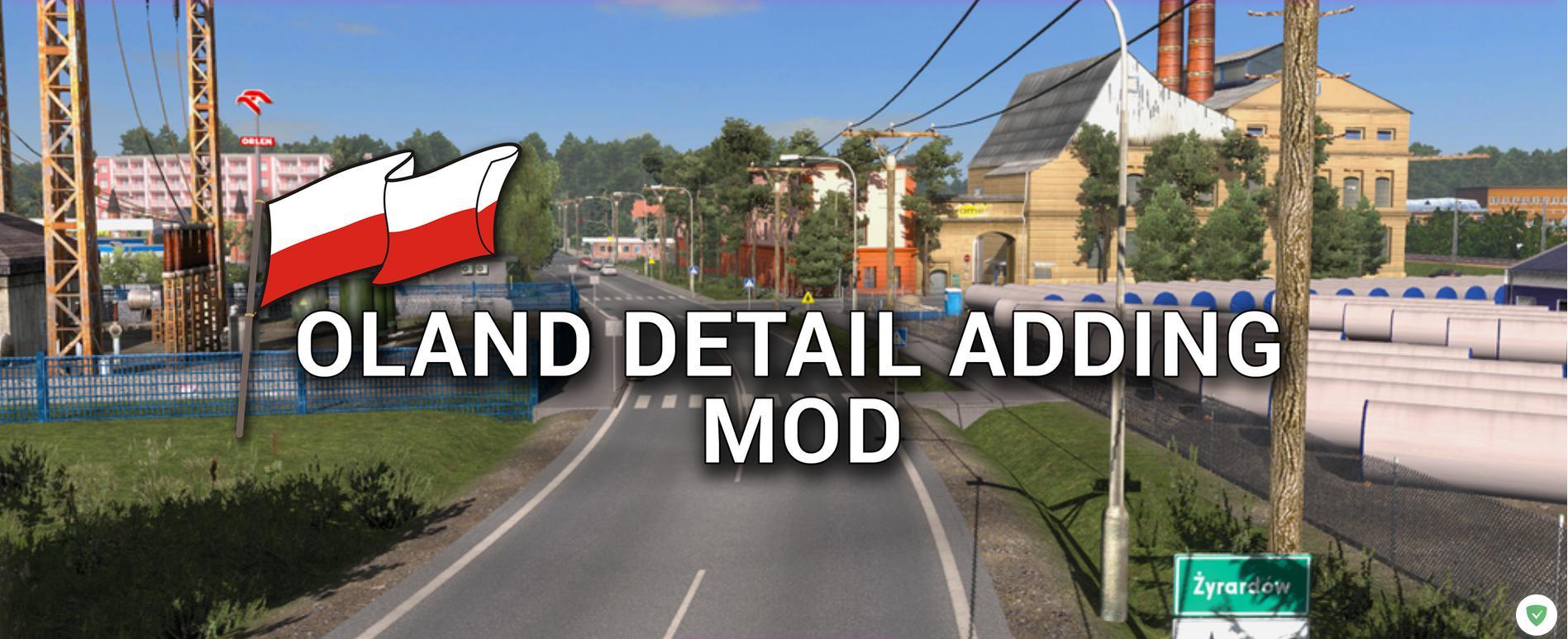 POLAND DETAIL ADDING MOD 1 35 MAP -Euro Truck Simulator 2 Mods