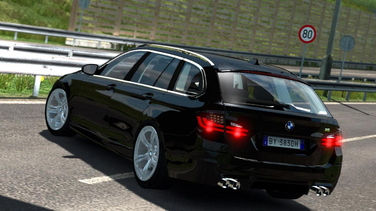 BMW M5 TOURING ETS2 1 35 CAR -Euro Truck Simulator 2 Mods