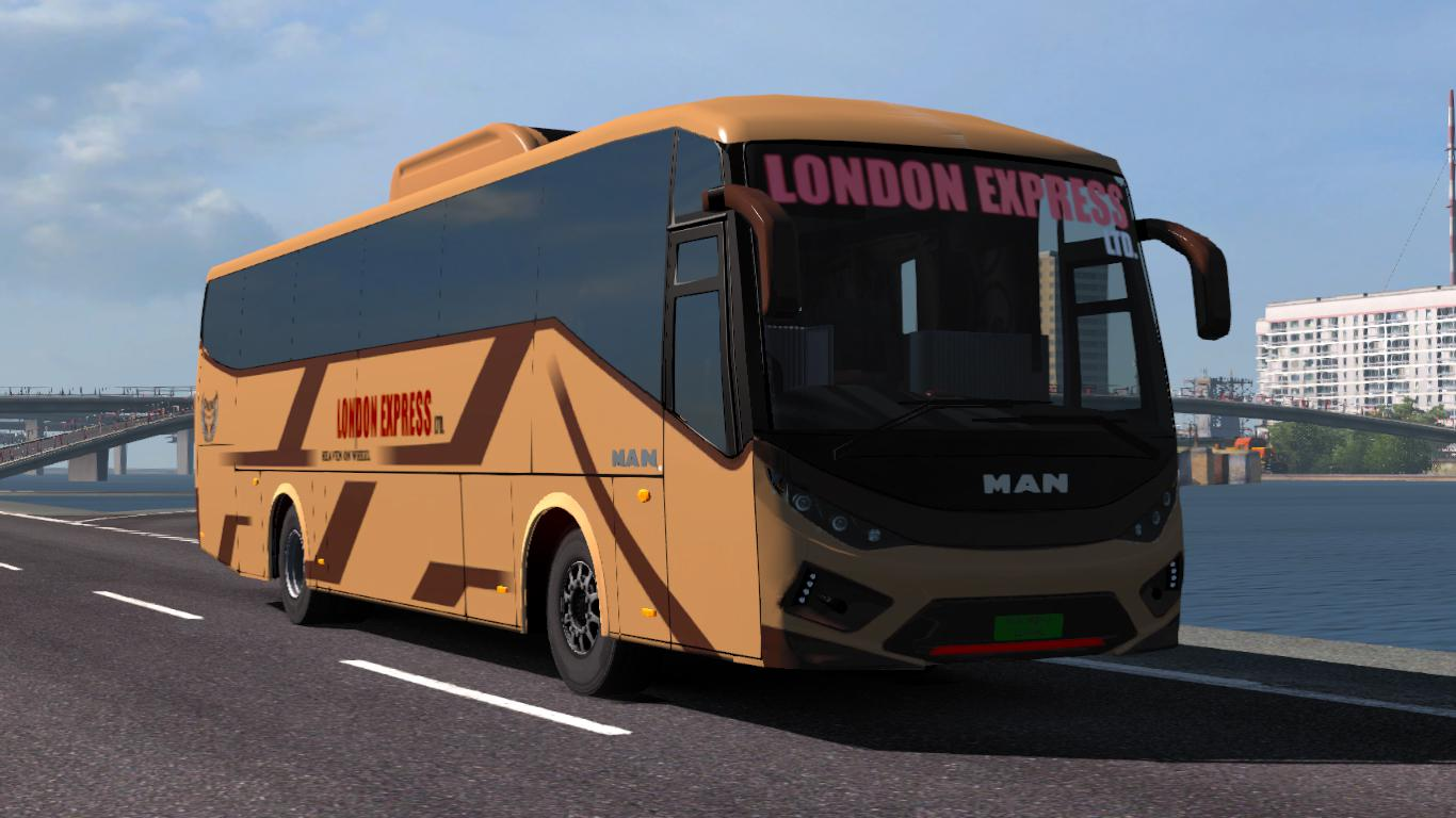 SKS BUS PACK FOR 1 35 UPDATED ETS2 -Euro Truck Simulator 2 Mods