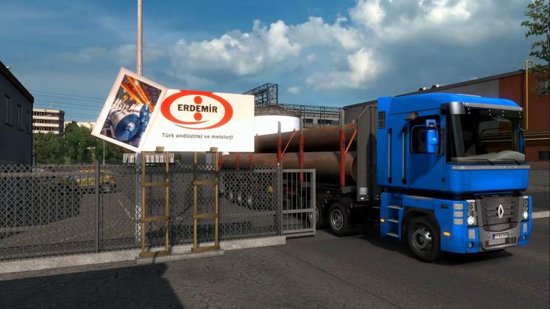 REAL LOGOS COMPANIES IN BULGARIA, ROMANIA AND TURKEY 1.36.X MOD -Euro Truck Simulator 2 Mods
